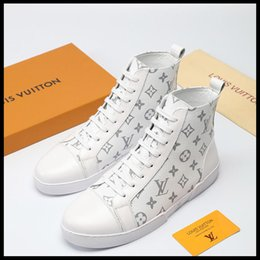lining shoes original Canada - 2019MU new men s casual sports shoes men s high-top sneakers, in line with micro-standard, with the original box fast delivery