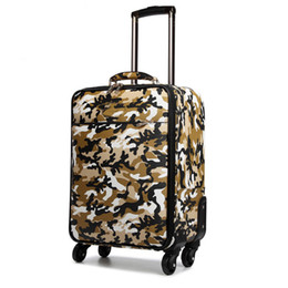 Discount spinner suitcases 2suitcase carry onTravel Bag Carry-OnVmen women V purse suitcase luxury trunk bag spinner universal wheel mono gram duffel trolley case2894#