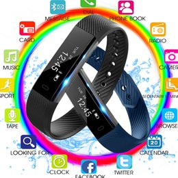 $enCountryForm.capitalKeyWord Australia - 2019 Smart Wristband Fitness Tracker Band Bluetooth Sleep Monitor Watch Sport Bracelet for ios Android Phone pk Fit Bit Mi