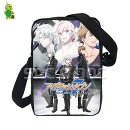 eff86844bb61 Designer Anime Idolish7 YAOTOME GAKU Shoulder Bag Women Men Small Handbag  Purses Phone Bag Boys Girls Crossbody Bag Kids Book Bags