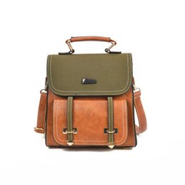 High Quality Backpack Brands Australia - Fashion Backpack Women Leisure Shoulder Bags High Quality Leather Backpack Designer Brand School Bags For Girls Small Bagpack