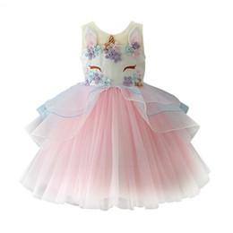 Discount 4t christmas outfits - Happy Birthday Costume New Arrival Girl's Princess Dress Party Dresses Christmas Outfits Kid's Outwear Childre