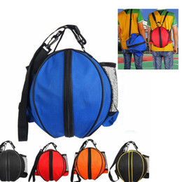 $enCountryForm.capitalKeyWord NZ - Sports Men Backpack Fit Basketball Football Volleyball Soccer Carry Storage Bag single shoulder Sport Training Bag With Net Pocket KKA6322