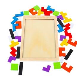 b311d5a191c8 Bloques de rompecabezas de Tetris 1-2-3-6 años de edad desarrollo  intelectual de los niños juguete educación temprana niños y niñas