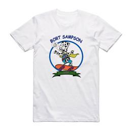 Симпсоны Борт Sampson Tee Bart Cow Смешные Одинокий остров Бруклин 99 футболка Мужской хип-хоп смешные футболки дешево оптом на Распродаже