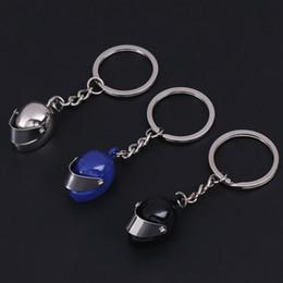 Helmet Key Australia - Safety Helmet Keychain Key Ring 3D Build Labourer Helmet Key Chain Holder Creative Portachiavi Llaveros Hombre Bag Charm