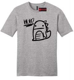 89253d57fd6 Cute Graphic Tees Australia - Huh Dinosaur Graphic Mens Soft T Shirt Cute  Dino Graphic Tee