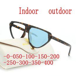 74413e7e6d4d Sunglasses Photochromic Finished Myopia Glasses Photosensitive Chameleon  Anti-glare Change Color Lens Prescription Glasse FML