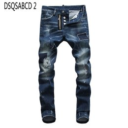 $enCountryForm.capitalKeyWord Australia - European American Italy jeans men slim jeans Men denim trousers button Patchwork blue hole pant for 8010