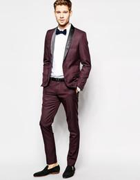 $enCountryForm.capitalKeyWord Australia - (Jacket+Pants)Men Slim Fit Suits Plus Size XS- 6XL Mens Wedding prom Suits With Pants Business Men Formal Wear YM