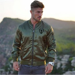 $enCountryForm.capitalKeyWord NZ - 2019 New Spring autumn European-style Casual Wear Sporting Zipper Jacket Fitness Running Sweater Coats