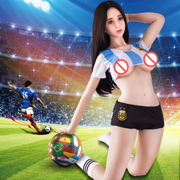 Chinese  Sex Doll Sexy Football Baby Lady For Man japanese silicone sex dolls lifelike male love dolls manufacturers