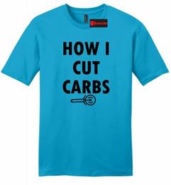 $enCountryForm.capitalKeyWord Australia - How I Cut Carbs Funny Pizza Mens Soft T Shirt Pizza Lover Food Workout Gym Z2Funny free shipping Unisex Tshirt