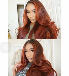 $enCountryForm.capitalKeyWord Australia - Body Wave Lace Front Human Hair Wigs Pre-plucked Ombre Full Lace Wigs Silk Straight Remy Hair Lace Wigs 1b #33