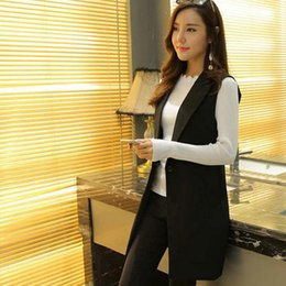 horse suit NZ - 2019 Summer and autumn women's self-cultivation suit horse clip fashion long Jackte AE701