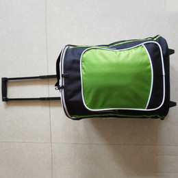 Luggage Packs Australia - Trolley insulation package containing insulation ice delivery bag,Rolling storage box bag,wheel trip Luggage pack, Oxford cloth