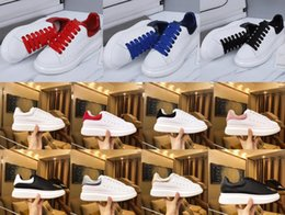 $enCountryForm.capitalKeyWord Australia - 2019 Luxury Designer Men Women Sneakers Cheap Best Top Quality Fashion White Leather Platform Shoes Flat Casual Party Wedding Shoes
