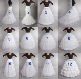 Свадебный Petticoat Crinoline скольжению Underskirt платье невесты обруч Vintage Slips на Распродаже