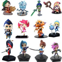 $enCountryForm.capitalKeyWord NZ - Lol League Of Legends Figure Action Varus Valentine's Skin Model Toy Action-figure 3d Game Heros Anime Party Decor Creative Gift Y19062704