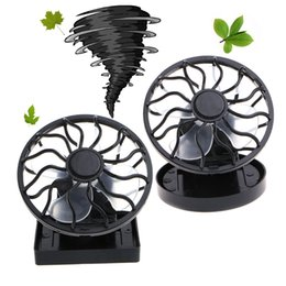Solar Fan Camping Australia - Mini Portable Clip-On Solar Panel Powered Cooling Fan For Travel Camping Fishing