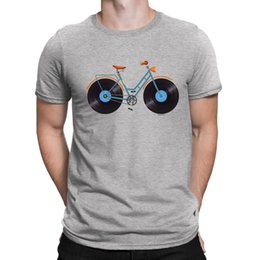 Cycling Cyclist Australia - Mens T-Shirt VINYL BICYCLE LP Record Music Gift For him Cycling Bike Cyclist FUN
