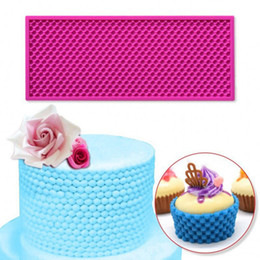 Silicone lace for cake online shopping - Handmade DIY with Kids Mother Cake Tools Silicone Mold Cake Mold Pearl Pattern Lace Mat Mould For Fondant Decorating Tools