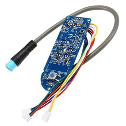 $enCountryForm.capitalKeyWord Australia - High quality Scooter Dashboard Battery Indicator Switch Panel Circuit Board for M365 Electric Scooter skateboard accessories