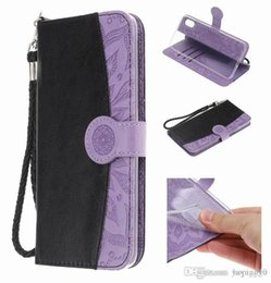 Stitch Wallet Australia - Retail Stitching embossed phone leather case high quality colorful phone cover Kickstand PU Wallet For Samsung for iphone flip phone case