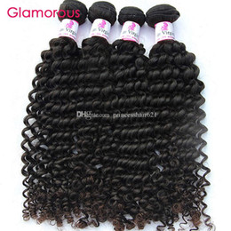 Wholesale Glamorous Brazilian Virgin Hair Curly Human Hair Products Same Length Mix Length g Malaysian Peruvian Indian Remy Human Hair Weaves