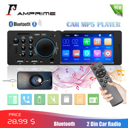 "tft player Australia - AMPrime 1Din Autoradi 4.1"" TFT Car Stereo Radio Bluetooth FM Radio USB AUX  Remote Control Audio MP4 MP5 Player With Rear Camera car dvd"