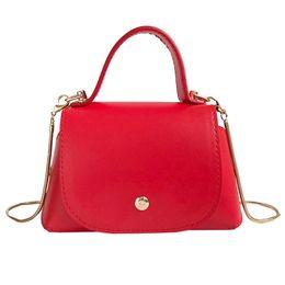 a6963c225035 Hot Sale Fashion Woman Leather Bag 2019 Casual Small Pure Color Handbags  Female Clutches Ladies Party Purse Bolsas Feminina