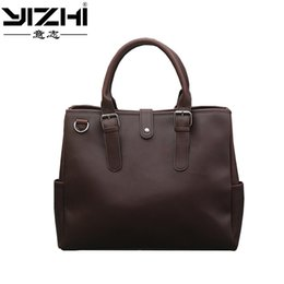 $enCountryForm.capitalKeyWord Australia - YI ZHI 2018 Business Men Briefcase Hook Opening Built-In Zipper PU Leather Large Capacity Shoulder Bag Computer Bag #568109