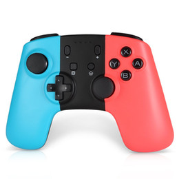 Red Wireless Controller UK - Bluetooth Vibration Wireless Controller Joypad for Nintend Switch Rechargable Handle Remote Gamepad Pro Joystick PC 360