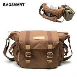 $enCountryForm.capitalKeyWord Australia - uggage Bags Handbags BAGSMART Water Resistant Vintage Camera Shoulder Bag Canvas Messenger Bag Canon Nikon DSLR Camera Bags To Travel Cas...