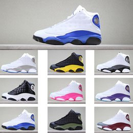 big toe band Australia - kids Basketball Shoes 13 melo hyper royal Grey Toe Neutral Grey barons hyper pink Toddler sneakers big boy & Girl Children Trainers