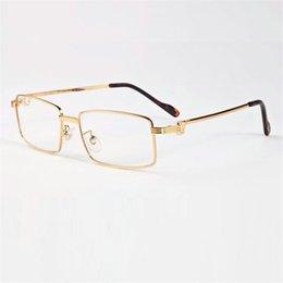 Men's Glasses Men's Eyewear Frames Bright Vazrobe Glasses Frame Men Gold Eyeglasses Man Wooden Leg Prescription Spectacles Brand Name Eyeglass High Quality