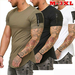 $enCountryForm.capitalKeyWord Australia - Fashion Men's Slim Fit O Neck Short Sleeve Muscle Tee Hot Selling T-shirt Casual Tops Men Tshirt Clothes Summer