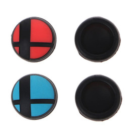 $enCountryForm.capitalKeyWord Australia - 1 Pair Analog Thumb Stick Silicone Skin Grips Anti-Skid Joy Con Caps Replacement for Switch NS Console Controller 1.6CM