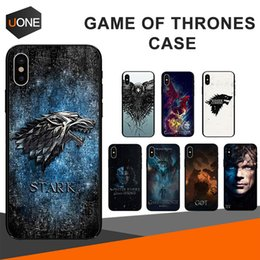 Discount game thrones phone cases - Game Thrones Case Daenerys Silicone Phone Back Cover Dragon Jon Snow tyrion lannister Colorful for iPhone 8 7 6 6S Plus