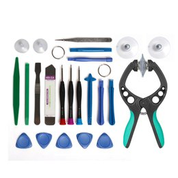 $enCountryForm.capitalKeyWord Australia - Mobile Phone Opening Pry Repair Tool For Repairing 7g 8p 20 in 1 Kits Screwdrivers Tool Set with Suction Cup