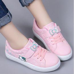 Han Fan NZ - Children's shoes female 2019 girls shoes fashion foreign gas new children's sports shoes Korean version of Han Fan children
