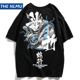 $enCountryForm.capitalKeyWord Australia - Men Snake Letter Printed T Shirt Hip Hop Mens Cotton T-Shirt 2019 Harajuku Teen Clothing Short Sleeve Tshirts Streetwear WJ205