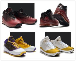 china athletic basketball shoes Canada - L7 James China Moon Christmas Lakers Men Basketball Shoes Trainer 7s Team Red Gold White Purple Yellow Mens Athletic Sport Shoes