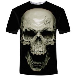 $enCountryForm.capitalKeyWord Australia - Cloudstyle New Hot Summer 3d T Shirt Street Models Love Fashion Skull Soul Chariot Rock T-shirt Men Clothes C19040302