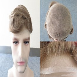 $enCountryForm.capitalKeyWord Australia - 2019 European men's brown wig, tailored for men, natural hair, thin and breathable, comfortable to wear.TKWIG