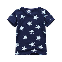 $enCountryForm.capitalKeyWord Australia - 2019 Cotton Star Baby Boys Tops Tees T Shirt For New Summer Kids Short Sleeve Clothes Fashion Boy's Clothing