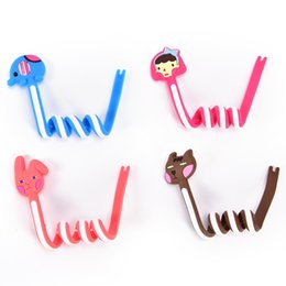 Mp4 cartoon online shopping - Cartoon Earphone Cable Wire Cord Organizer Holder Winder for Phone Tablet MP3 MP4 MP5 Computer Headphone winding thread tool