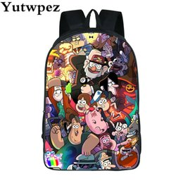 Luggage & Bags 2019 New Style Cartoon Fashion Backpack For Boy Girls Children School Bags Anime Gravity Falls Mabel Bill Cipher Laptop Shoulder Bag Travel Bag