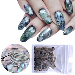 $enCountryForm.capitalKeyWord NZ - 1 Pack Pearl Natural Sea Shell Slices Shell Manicure Nail Art Decor