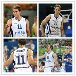 c94f760224e  11 Petteri Koponen Finland EuroBasket 2013 Retro Basketball Jersey Mens Stitched  Custom any Number and name Jerseys XS-6XL vest Jerseys NC